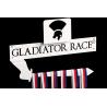 Gladiator 3D - bílý komaxit